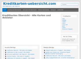kreditkarten-uebersicht.com