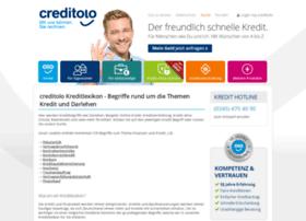kreditlexikon.creditolo.de