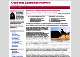 kreditohneeinkommensnachweis.com