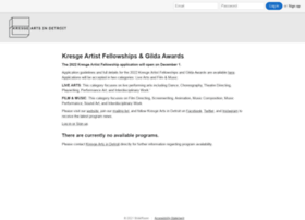 kresge.slideroom.com