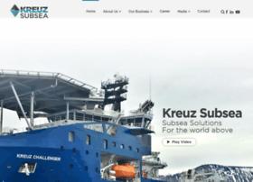 kreuzsubsea.com