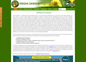 krishisanskriti.org