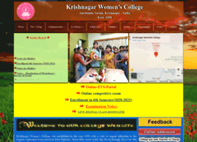 krishnagarwomenscollege.org.in