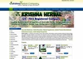 krishnaherbals.com