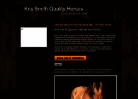 krissmithqualityhorses.com