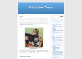 kristindoestheory.umwblogs.org