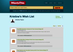 kristinetaylor.wantsthis.com