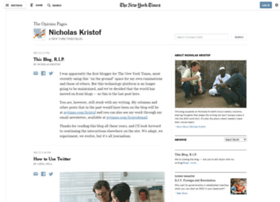 kristof.blogs.nytimes.com