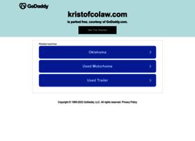 kristofcolaw.com