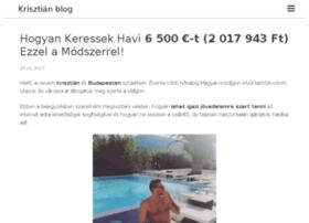 krisztianblog.com