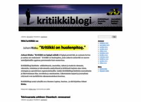 kritiikkiblogi.wordpress.com