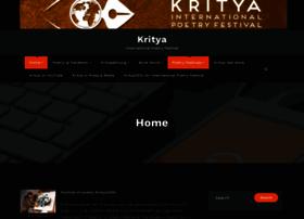krityapoetryfestival.com