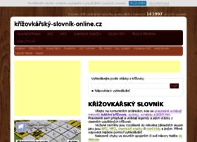 krizovkarsky-slovnik-online.cz