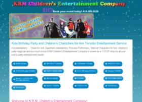krmchildrensentertainmentcompany.com