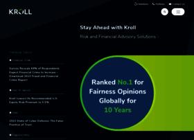 kroll.com