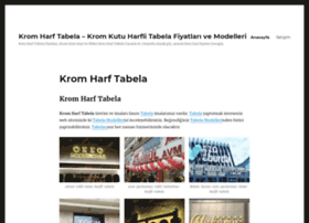 kromharftabela.net