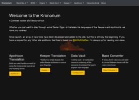 kronorium.com