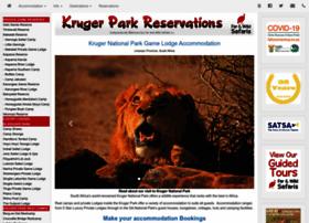 krugerparkreservations.com
