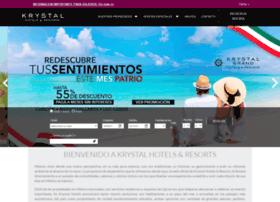 krystal-hotels.com.mx