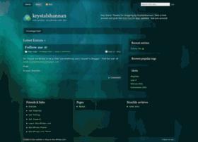 krystalshannan.wordpress.com
