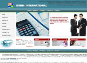 ksbminternational.com