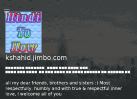 kshahid.jimbo.com