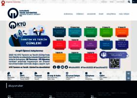 ktu.edu.tr