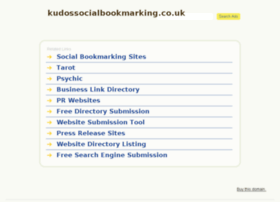 kudossocialbookmarking.co.uk