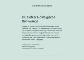 kuechenmaschine-tests.com