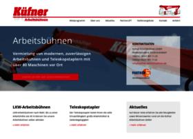 kuefner-arbeitsbuehnen.de
