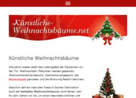 kuenstliche-weihnachtsbaeume.eu