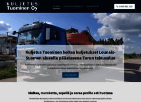 kuljetustuominen.fi