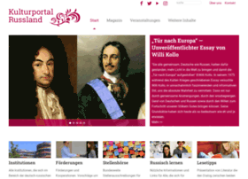 kulturportal-russland.de