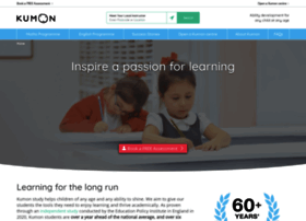 kumon.co.uk