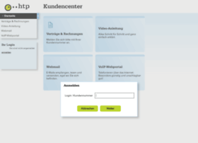 kundencenter.htp.net
