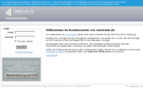 kundencenter.smstrade.de