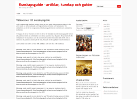 kunskapsguide.se