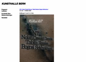 kunsthalle-bern.ch