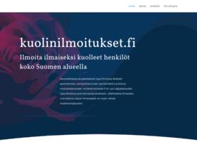 kuolinilmoitukset.fi