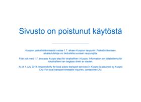 kuopio.matkahuolto.info