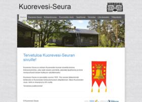 kuorevesiseura.fi