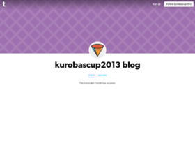 kurobascup2013.tumblr.com