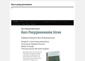kurspozycjonowaniastron.pl