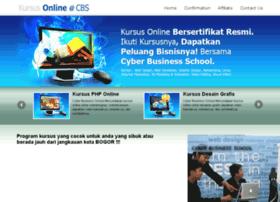 kursusonline.cbs-bogor.net