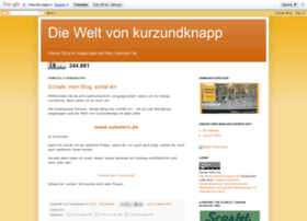 kurzundknap.blogspot.de
