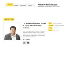 kushalnagar.com