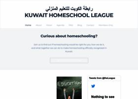 kuwaithomeschoolleague.org