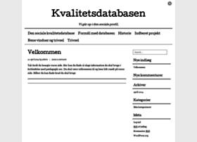 kvalitetsdatabasen.dk