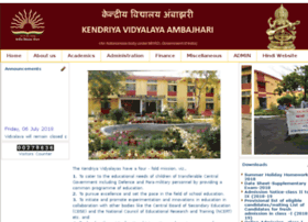 kvambajhari.edu.in