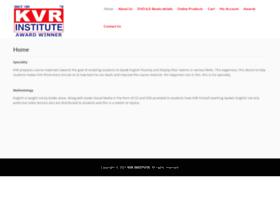 kvrinstitute.com